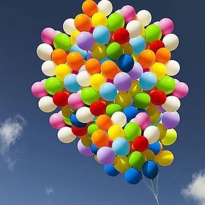 تعداد بادکنک هلیومی برای بالا بردن یک نفر؟