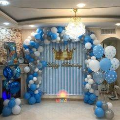 مراسم جشن تولد یکسالگی پسر