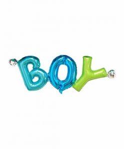 بادکنک حروف BOY (پسر) فویلی