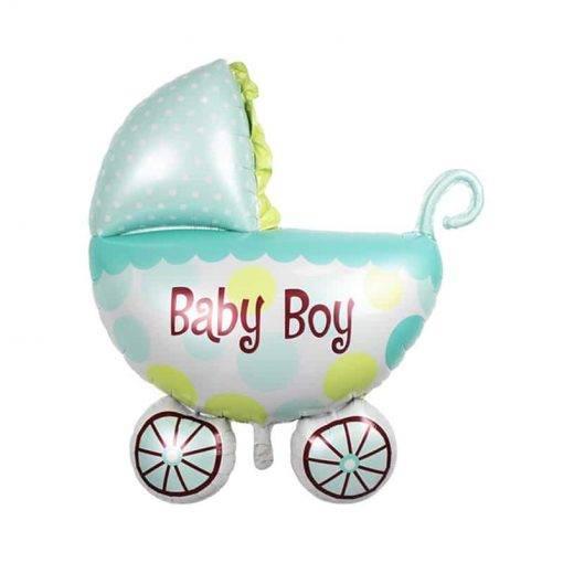 بادکنک کالسکه نوزاد پسر