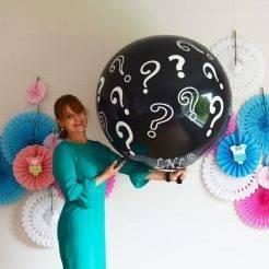 بادکنک طرحدار تعیین جنسیت نوزاد