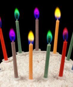 شمع شعله رنگی
