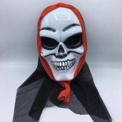 ماسک صورت شنل دار سبیل دار