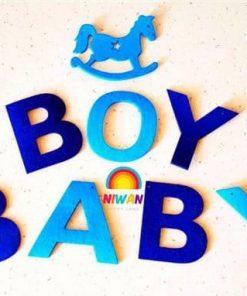 ریسه نمدی تولد کودک پسر