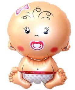بادکنک هلیومی نوزاد فویلی
