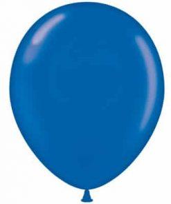 بادکنک هلیومی آبی پررنگ ساده