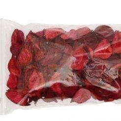 گل خشک قرمز و مشکی