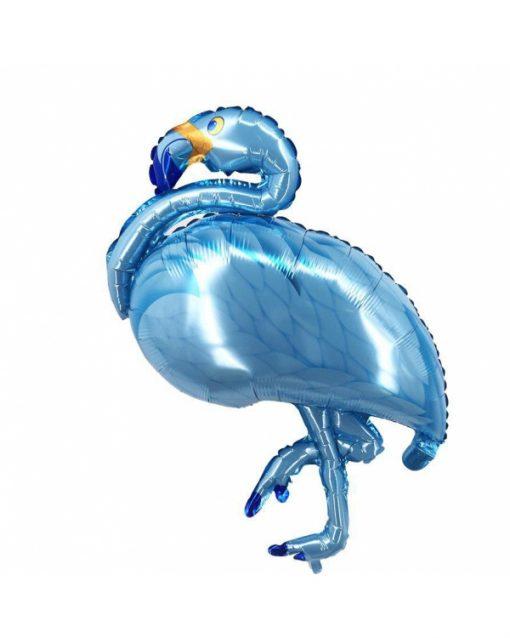 بادکنک فلامینگو آبی