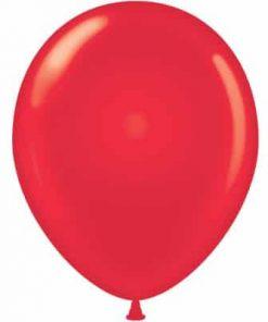 بادکنک هلیومی قرمز ساده