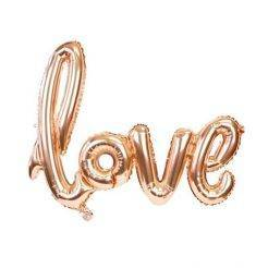 بادکنک حروف Love فویلی