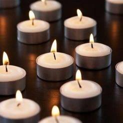 شمع وارمر سفید