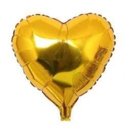 بادکنک قلب طلایی