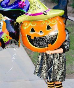 بادکنک هلیومی کدو هالووین