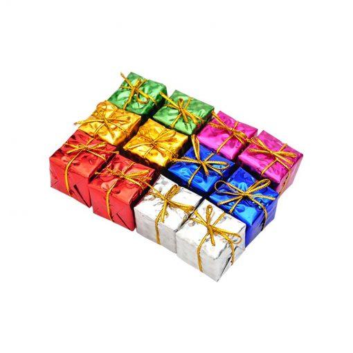 آویز جعبه کادو کریسمس بسته 6 عددی