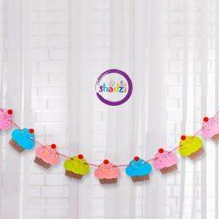 ریسه کاغذی کاپ کیک