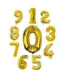 عدد فویلی هلیومی طلایی بزرگ